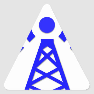 Sticker Triangulaire Tour de réseau
