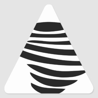 Sticker Triangulaire Tourbillon