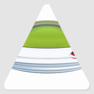 STICKER TRIANGULAIRE UFO