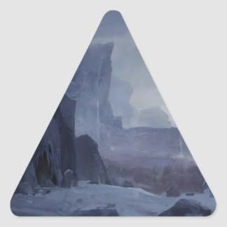 Sticker Triangulaire Un endroit à cacher
