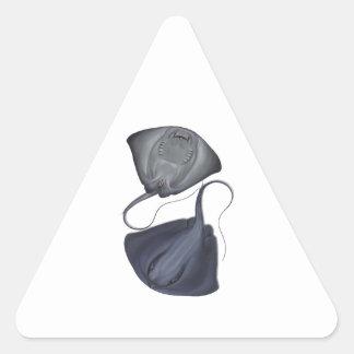 Sticker Triangulaire Upside-down