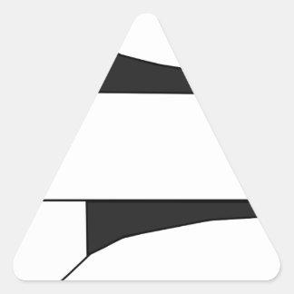 Sticker Triangulaire Vaisseau spatial