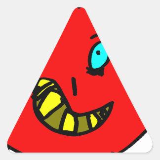 Sticker Triangulaire Valérian le gentil monstre - Axel Ville