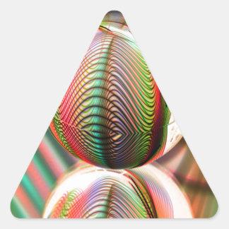 Sticker Triangulaire Variation sur le thème