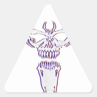 Sticker Triangulaire Venimeux