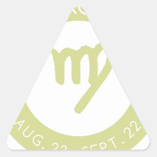 Sticker Triangulaire Vierge