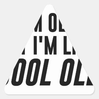 Sticker Triangulaire Vieux frais