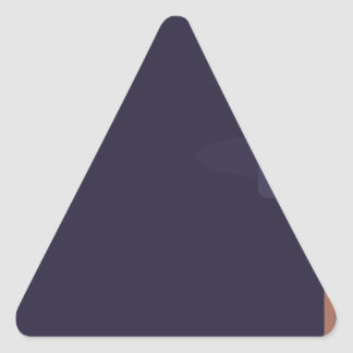 Sticker Triangulaire Vieux livre