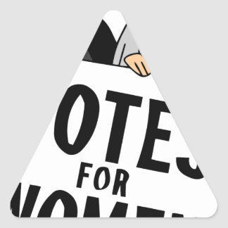 Sticker Triangulaire votes