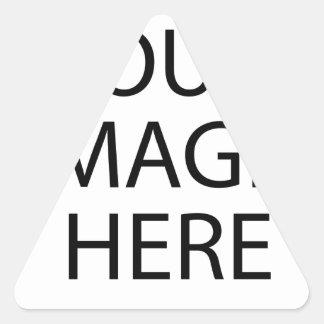 Sticker Triangulaire votre image ici