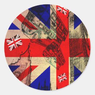 sticker UK FLAG