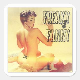 Stickers Freaky Fanny