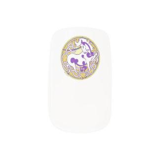 Stickers Pour Ongles 2014 enveloppes de clou de licorne de style de