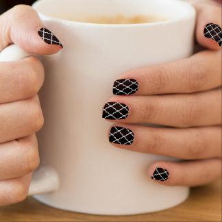 Stickers Pour Ongles Art de clou de motif de Quatrefoil