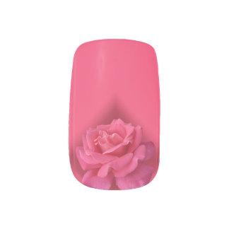Stickers Pour Ongles Art de clou de rose de rose de décalques d'ongle