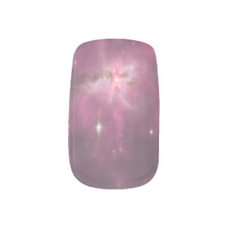 Stickers Pour Ongles Art en pastel pourpre de clou de galaxie