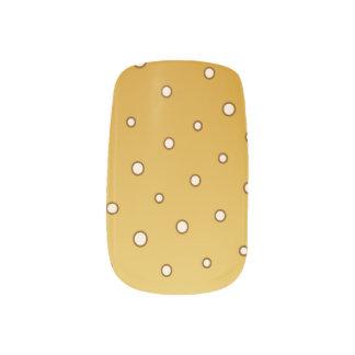 Stickers Pour Ongles Art pétillant de clou de Champagne