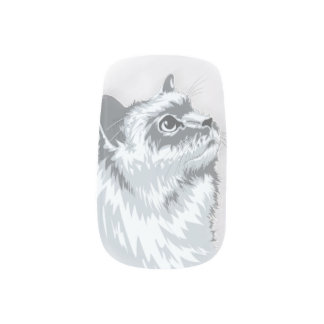 Stickers Pour Ongles Bouts de Kitty