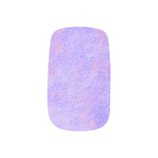 Stickers Pour Ongles Cercles roses et pourpres