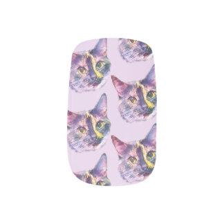 Stickers Pour Ongles Chat en pastel de Kitty
