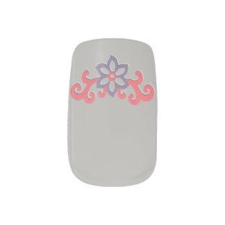 Stickers Pour Ongles Choisissez la fleur de rouleau d'arrière - plan