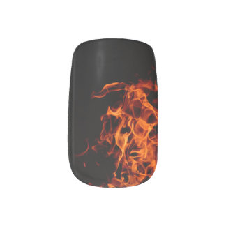 Stickers Pour Ongles Clous - flamme