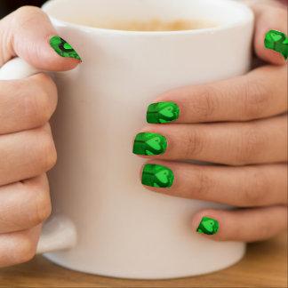 Stickers Pour Ongles Clous heureux originaux de Minx de St Patrick