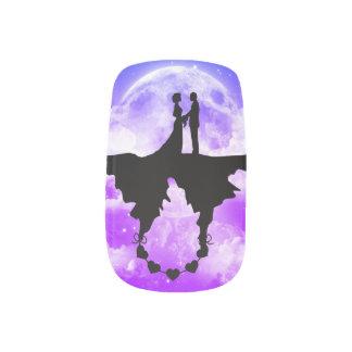Stickers Pour Ongles Conception romantique d'art - pour vos clous !