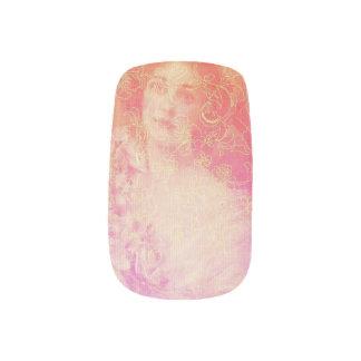 Stickers Pour Ongles Cru, époque de belle, belle dame, victorian, chic