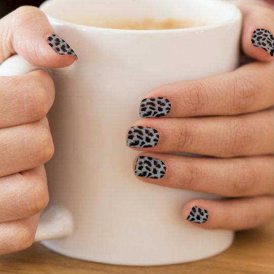 Stickers pour ongles de Minx Léopard