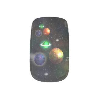 Stickers Pour Ongles Décalques d'art de clou de Minx de Planetscape
