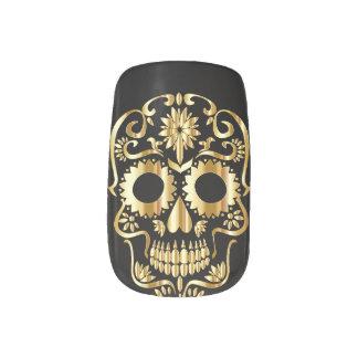 Stickers Pour Ongles Décalques d'art de clou de Minx d'impression d'or