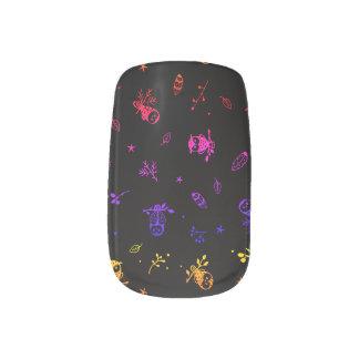 Stickers Pour Ongles Décalques sans couture d'art de clou de Minx de