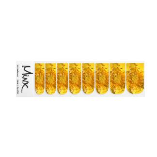 Stickers Pour Ongles Fermez-vous vers le haut des fleurs jaunes