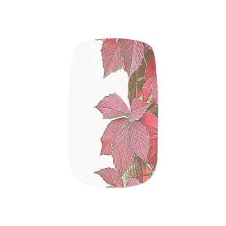Stickers Pour Ongles feuille d'automne sur l'arbre