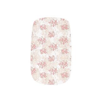 Stickers Pour Ongles Fleur romantique de Vingtage