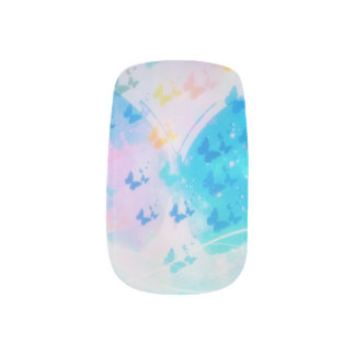 Stickers Pour Ongles Le papillon le cloue