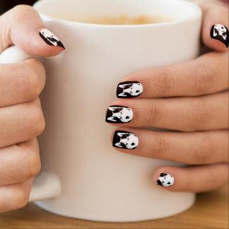 Stickers Pour Ongles Les ongles enroués refroidissent le décor enroué