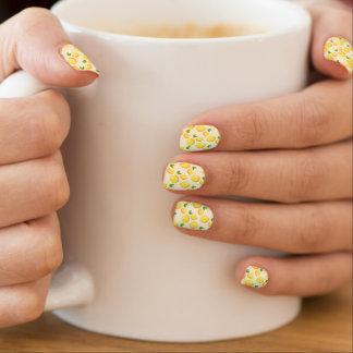Stickers Pour Ongles Motif lumineux de citron
