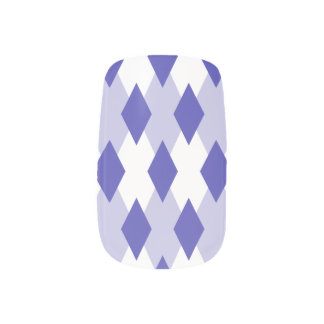 Stickers Pour Ongles Plaid à motifs de losanges Pattern_4A46B0