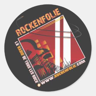 Stickers Rockenfolie
