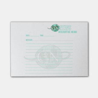 Stickies inter-bureaux de note de nouvelles de NC Post-it®