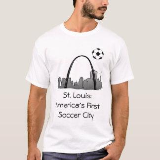 stlouis, St Louis : Première ville du football de T-shirt