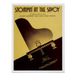 Stompin à la couverture vintage de Songbook de la  Posters