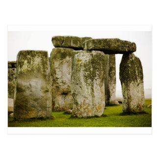 Stonehenge antique, carte postale BRITANNIQUE