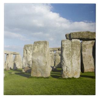 Stonehenge (circa 2500 AVANT JÉSUS CHRIST), monde  Grand Carreau Carré