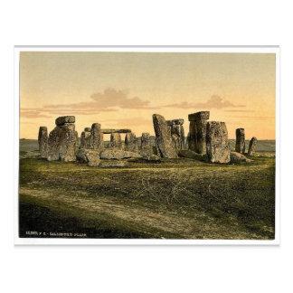 Stonehenge, Salisbury, Angleterre Photochrom rare Cartes Postales