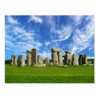 Stonehenge, WILTSHIRE, Angleterre Cartes Postales