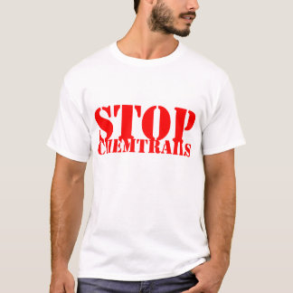 Stop Chemtrails - T-shirt