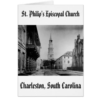 stp, l'église épiscopale de St Philip Carte De Vœux